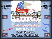 Warrior's Weekend Pre-Veterans Day Dance