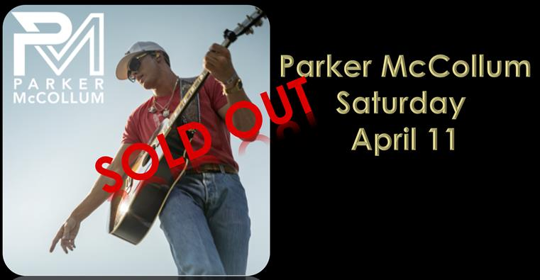 PARKER SOLD OUT