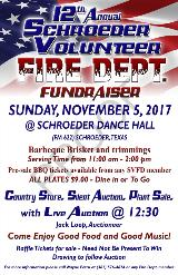 Schroeder Volunteer Fire Department Fundraiser