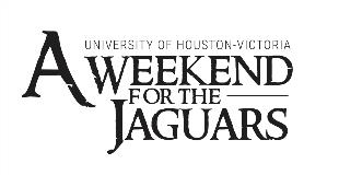 UHV - LOGO - A WEEKEND FOR THE JAGUARS